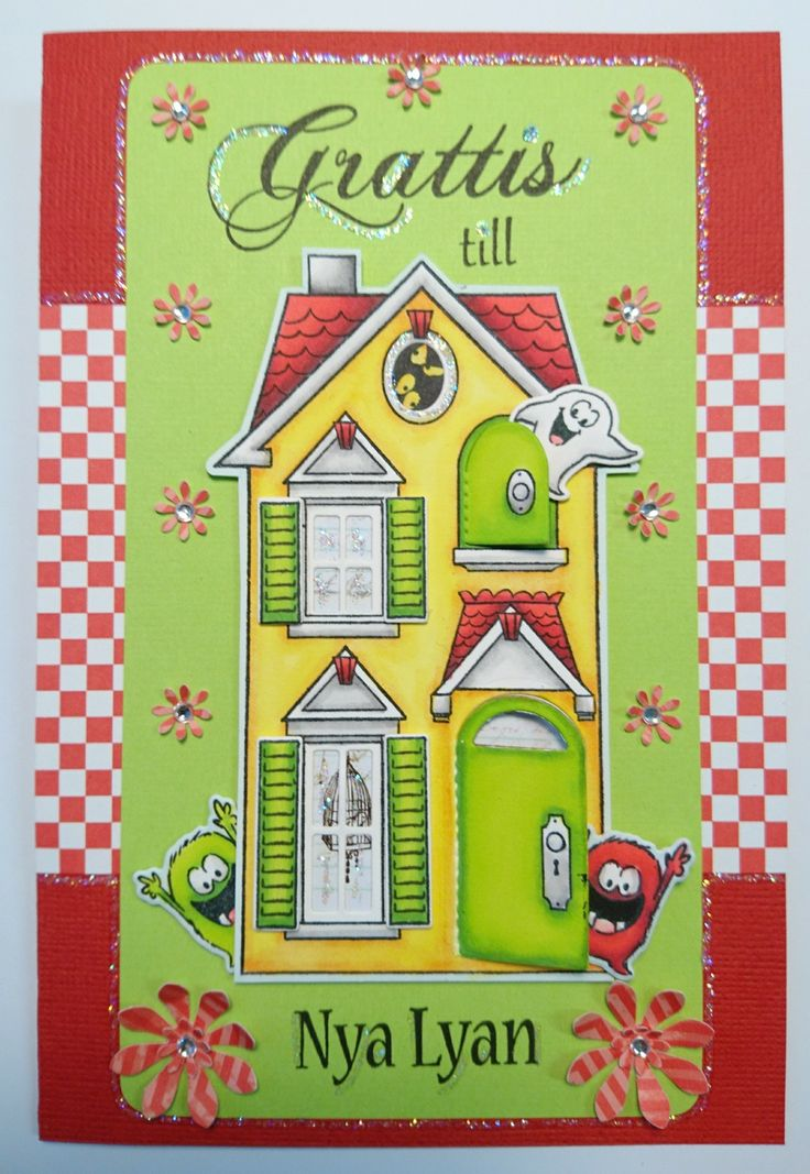 Congrats to your new house! Stamps from Artimpressions and HC Design
