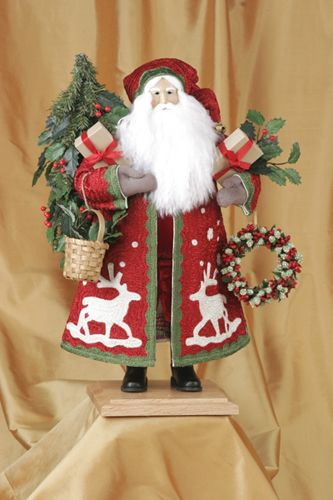Lynn Haney Santas are such a beautiful reminder of Christmas