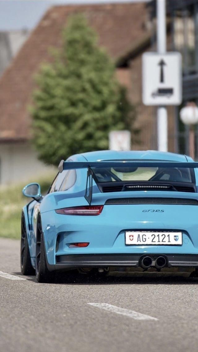 Blue Gt3 Rs Car Iphone Wallpaper Mercedes Wallpaper Car Wallpapers