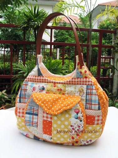 My quilt bag, via Flickr.