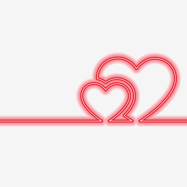 Neon Heart Glowing Light Heart Clipart Neon Shape Png And Vector With Transparent Background For Free Download Glowing Background Neon Valentines Illustration