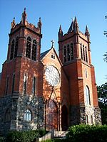 French Gothic styled St. Paul Catholic Church, 1899, in Grosse Pointe is among metro Detroit's many historic churches.