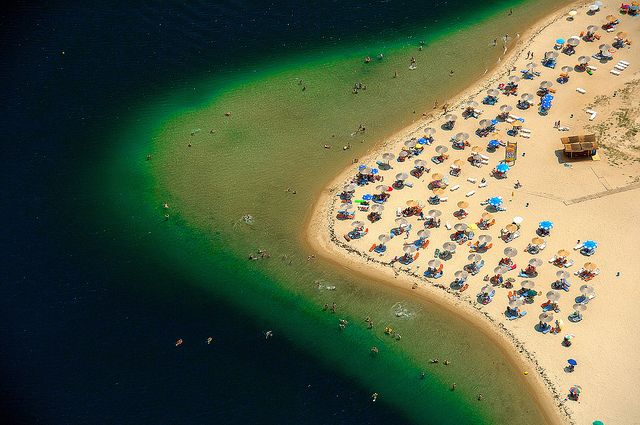 Ammoglossa (meaning tongue of sand for obvious reasons!), Keramoti, Greece