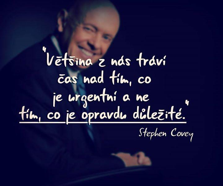 Steve Covey motivace česky http://on.fb.me/14rlJrj