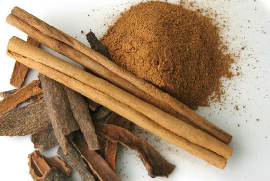 1. Cinnamon:  This spice will help your blood sugar get into your cells to be used for energy, so less will be stored as fat. You should add ¼ to 1 teaspoon of cinnamon to an item you eat everyday, like yogurt or