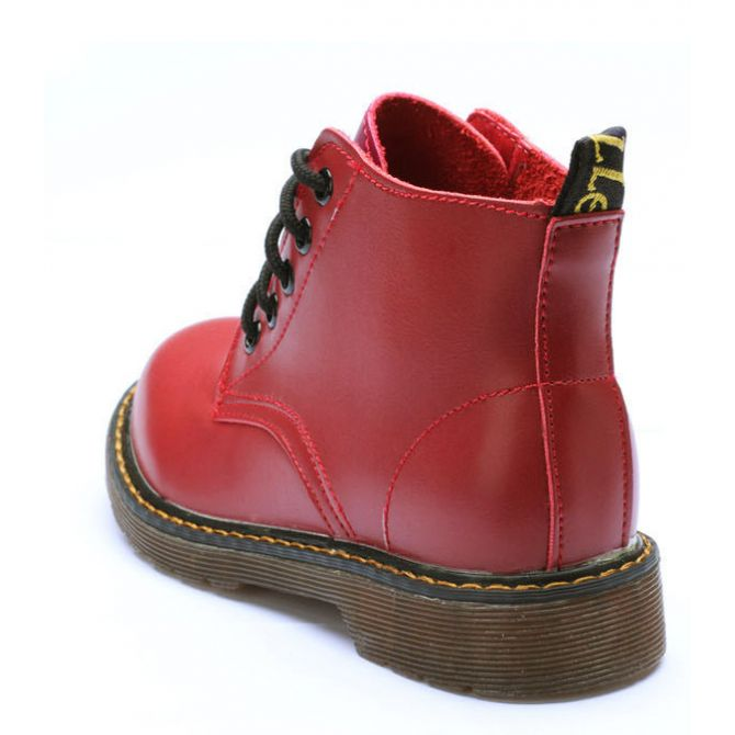 5 Eye Ankle Boots.