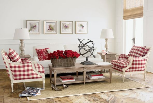 603 Best Buffalo Check Toile Images On Pinterest Home Ideas Armchairs And Bedroom