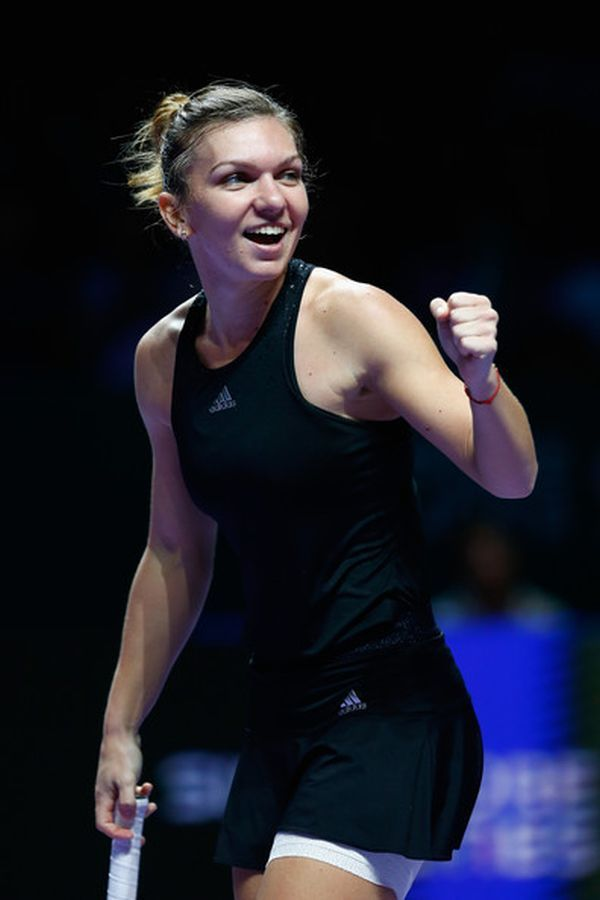 Simona Halep-Ranked #2 in professional tennis
