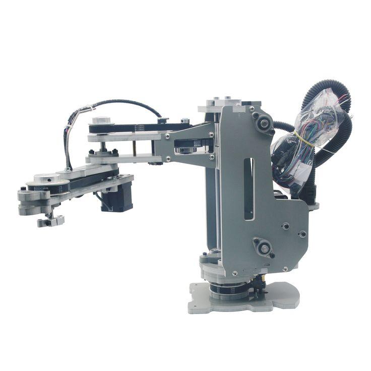 2017 Assembled SCARA Robot Mechanical Arm Hand Manipulator 4 Axis Stepper Motor   eBay