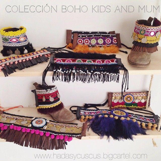 Ya tenemos nuestra soho con algunas piezas de la Dreams boho kids and mum. Son ediciones limitadas. Una por pieza y no hay dos iguales!  Diseños únicos para nuestras peques y para nosotras! Piezas exclusivas y de edición limitada!  Http://www.hadasycuscus.bigcartel.com #ethnic #boho #bohostyle #complementos #decorabotas #cubrebotas #handmade #bohokids #kids #kidsandmum #tribal #tribalstyle #fashion #blogger #hechoamano #love #edicionlimitada #hadasycuscus #hadasycuscusstudio