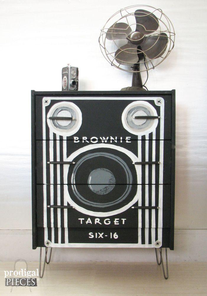 Box Camera Dresser ~ Ikea Rast Hack--amazing!!