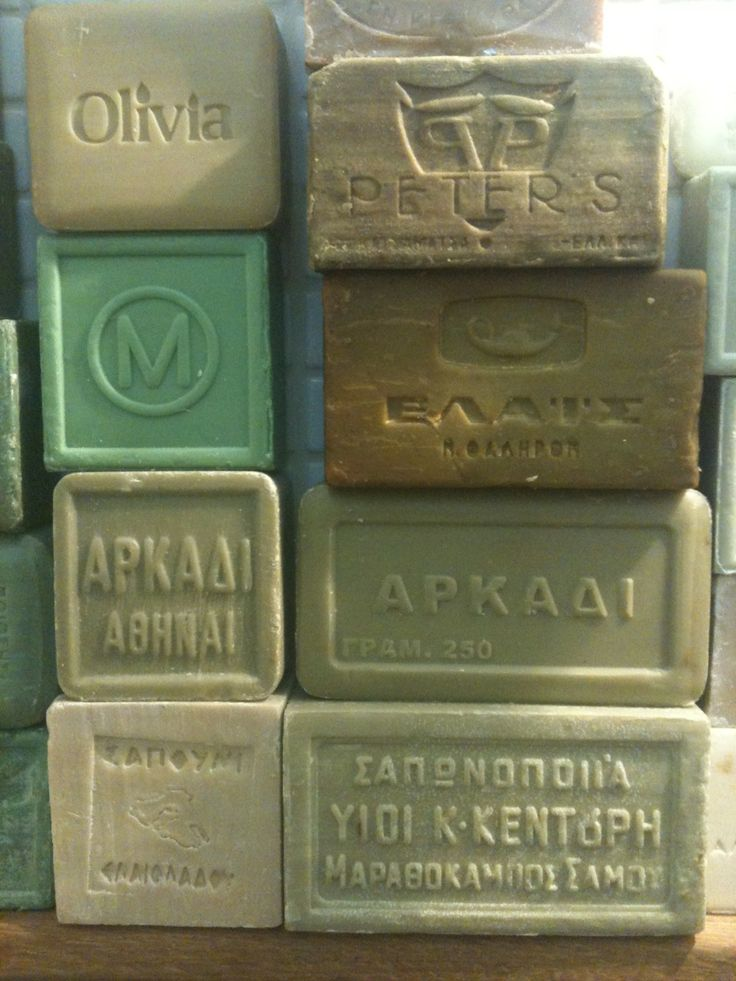 Olive oil Greek soap: great for skincare