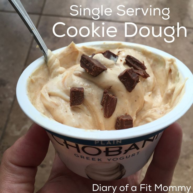 Single serving healthy cookie dough.. Guiltless and tasty! Perfect for pregnancy cravings.
