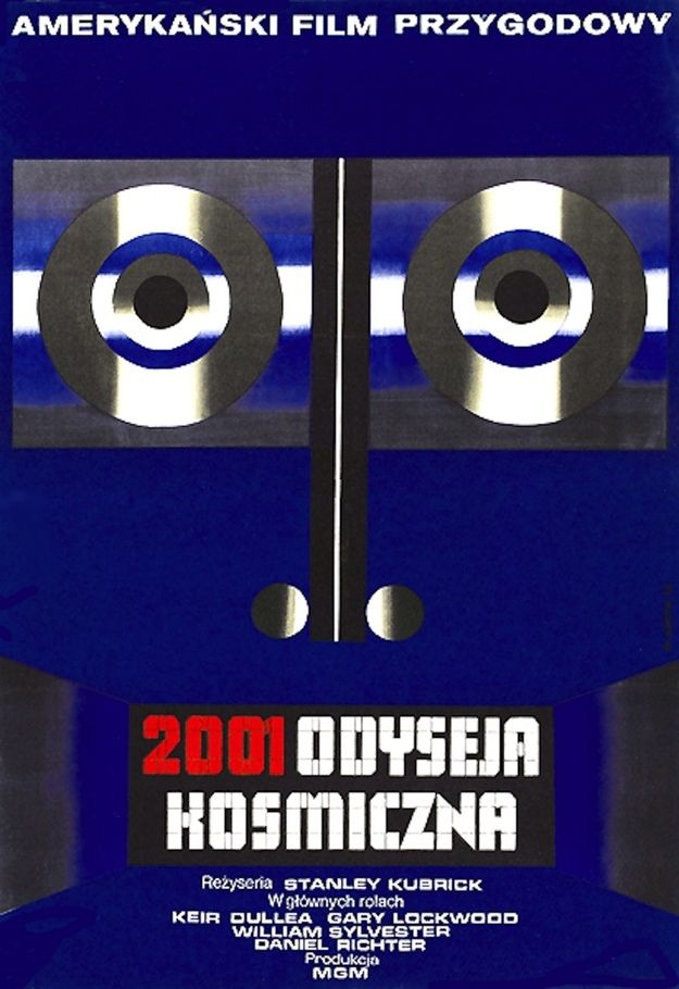 2001 : A Space Odyssey   45 Amazing Vintage Polish Posters Of Classic American Films
