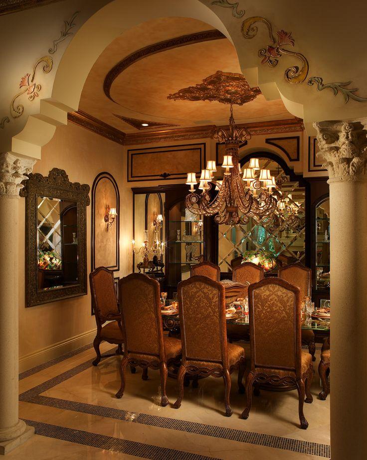 Design Portfolio Of Perla Lichi Tuscan Dining RoomsFormal