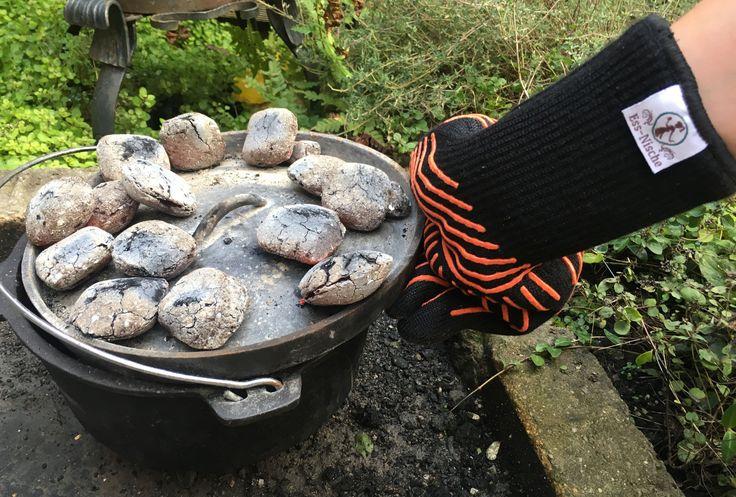 Dutch-Oven Grillhandschuhe von Ess-Nische schützen vor Hitze