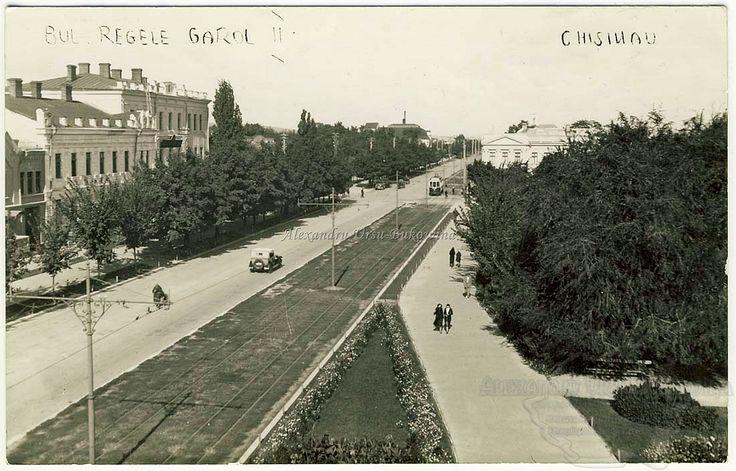 Chișinău. Bulevardul Regele Carol II.