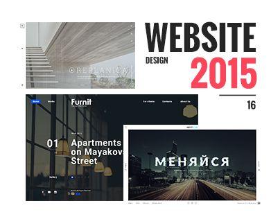 """다음 @Behance 프로젝트 확인: """"Website Design 2015/16"""" https://www.behance.net/gallery/42521099/Website-Design-201516"""