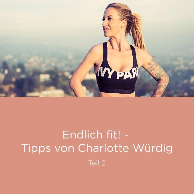 Hungern ist ein No-Go! Worauf es ankommt: die richtige Ernährung! Warum wir auf nichts verzichten müssen, verrät mir Charlotte Würdig im Interview.