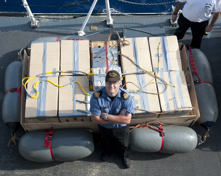 On top of it - HMCS Toronto's 4th narctics bust.  During the search and inspection of a vessel by the ship's naval boarding team on May 23, Toronto's crew recovered approximately 300 kilograms of heroin. Read more in the Lookout Newspaper week 22 edition.