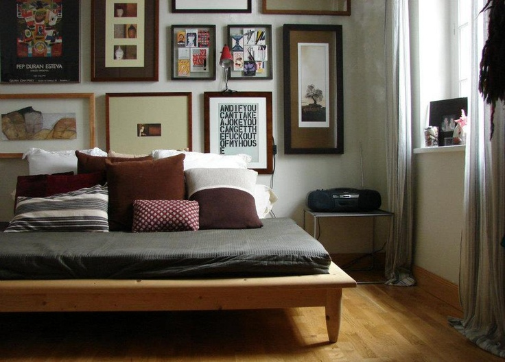 21 best images about camas en madera on pinterest for Cama queen de madera
