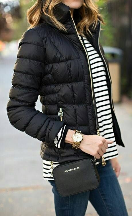 Puffy and cargo jacket outfits http://www.justtrendygirls.com/puffy-and-cargo-jacket-outfits/