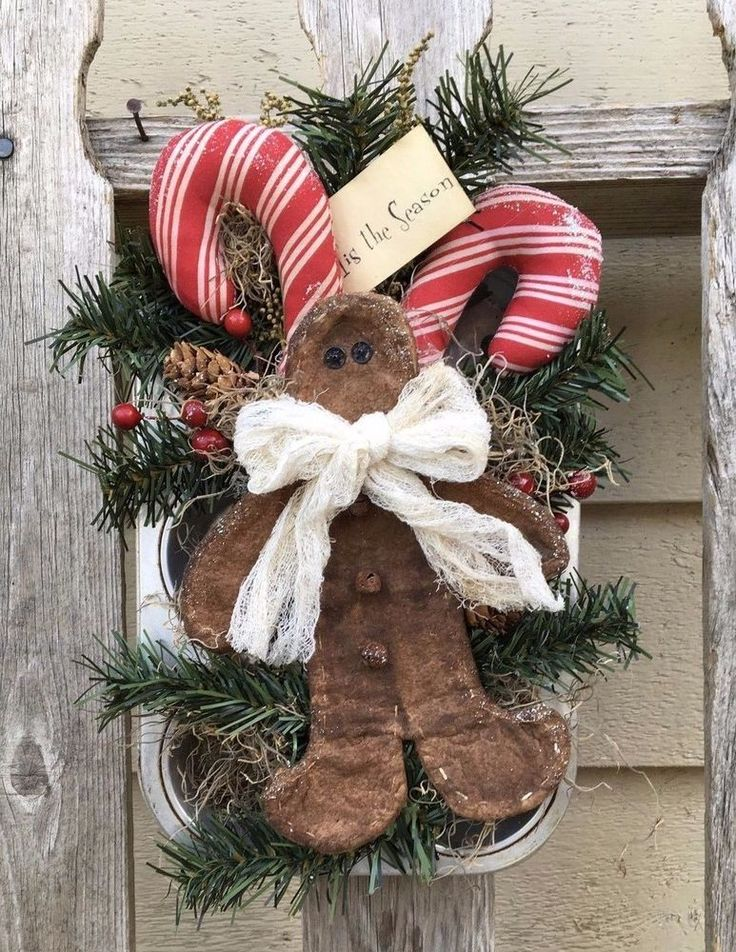 Best 6680 gingerbread images on pinterest christmas gingerbread gingerbread man candy canes primitive christmas holiday hanger naiveprimitive primitivesbycyn publicscrutiny Choice Image