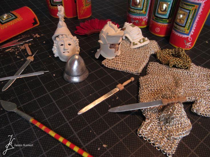 WIP No2: Imperial Roman Legionary Equipment by JannisKernert.deviantart.com on @DeviantArt