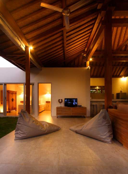 TV #area, enjoy the moment on the comfortable #beanbags.