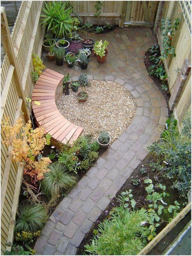 Best 20+ Narrow Garden Ideas On Pinterest | Small Courtyards
