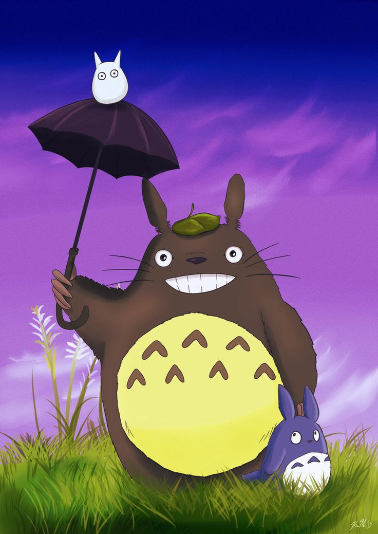 2541 Best Totoro Images On Pinterest