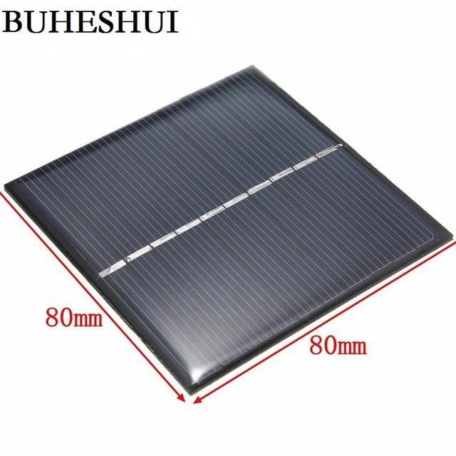 Buheshui 5v 0 8w Polycrystalline Solar Cell Diy Solar Panel Charger For 3 7v Battery Toy Education Kits 80 In 2020 Solar Energy Panels Solar Panel Charger Solar Panels
