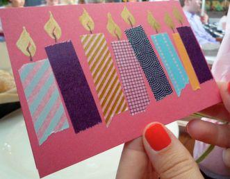 Bday card idea for Cricut