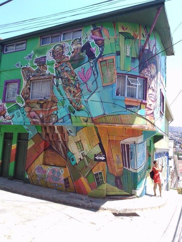 Cerro Polanco, Valparaiso. Muy cerca de mi casa!!
