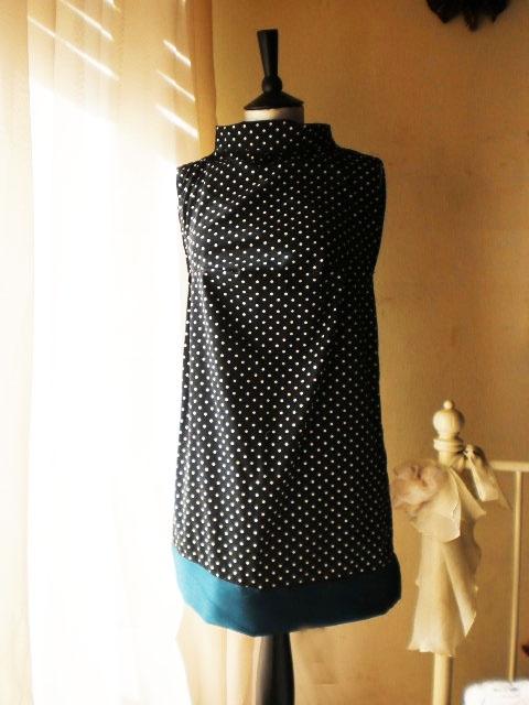 Polka dot dress 60's mod inspiration!