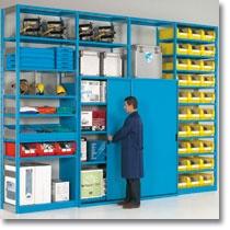 Gli scaffali industriali componibili Fami Storage Systems offrono molteplici soluzioni di stoccaggio delle merci e archiviazione di documenti