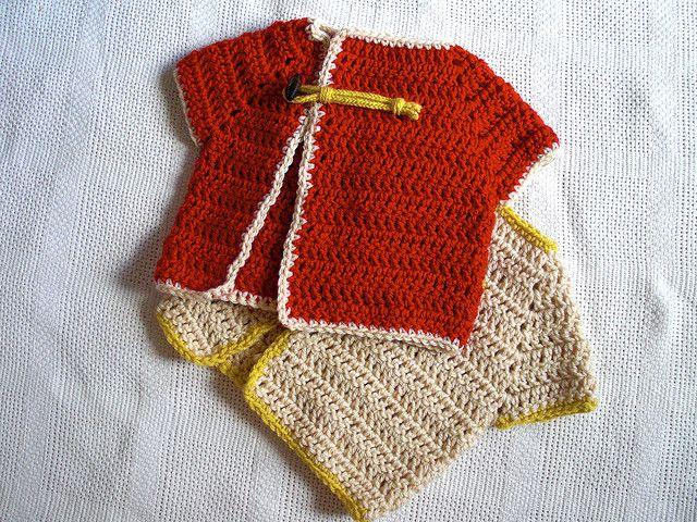 Crochet Baby Chef Hat Pattern Free : 17 beste afbeeldingen over Haken - Kleding op Pinterest ...