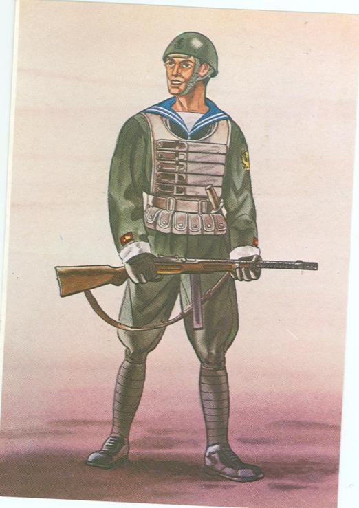 Regia Marina - Marinaio, Battaglione Paracadutisti di Marina, 1941