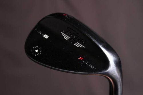 Titleist Vokey SM6 Tour Chrome F Grind Sand Wedge 56 RH Steel Golf #11100