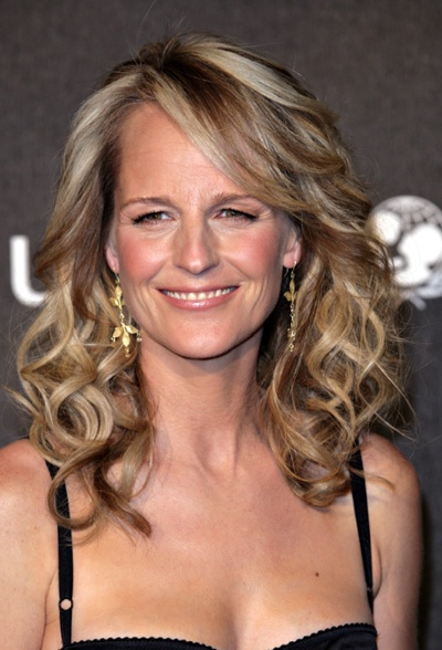 'What Women Want' star/Oscar winner/ Actor/Director Helen Hunt knits to deal with her awards season anxiety