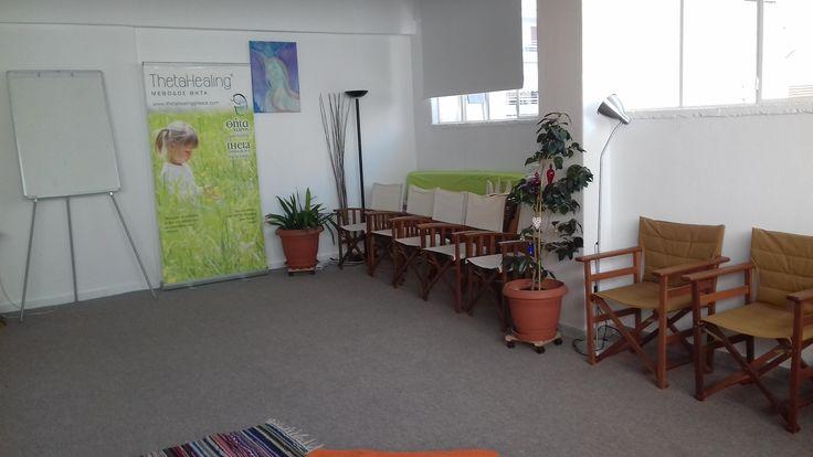 """""""Θήτα Χώρος"""" είναι η εταιρία και ο τόπος που δημιούργησε η Μαρία Τελίδου για να προάγει το πνεύμα και την φιλοσοφία της Μεθόδου Θήτα – ThetaHealing®. Είναι ένας τόπος όπου θα στεγάζει τα σεμινάρια και τις συνεδρίες της Μεθόδου Θήτα."""