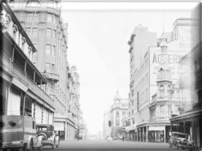 Home. Old Johannesburg, Rissik Street.
