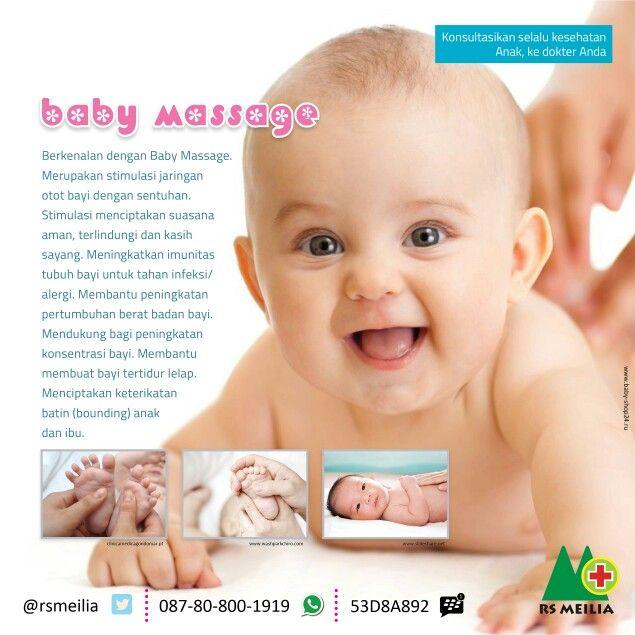 #sehat #kesehatan #anak #bayi #balita #pijat #stimulasi #sentuhan #bonding #ikatan #orangtua #rumahsakit #rsmeilia #cibubur #depok #bekasi #bogor #jakarta