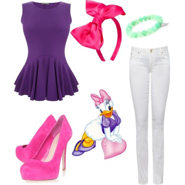 """Daisy Duck"" by lucindadotty on Polyvore"
