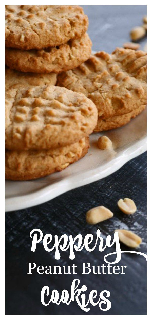 Peppery Peanut Butter Cookies Recipe Delicious Cookie Recipes