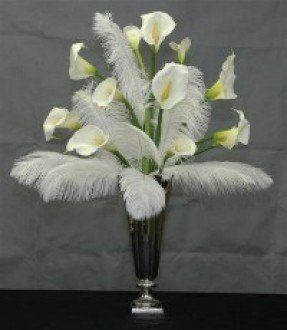 Image Result For How To Make Artificial Flower Arrangements For Large Vases Lily Centerpieces Calla Lily Centerpieces Calla Lily Wedding