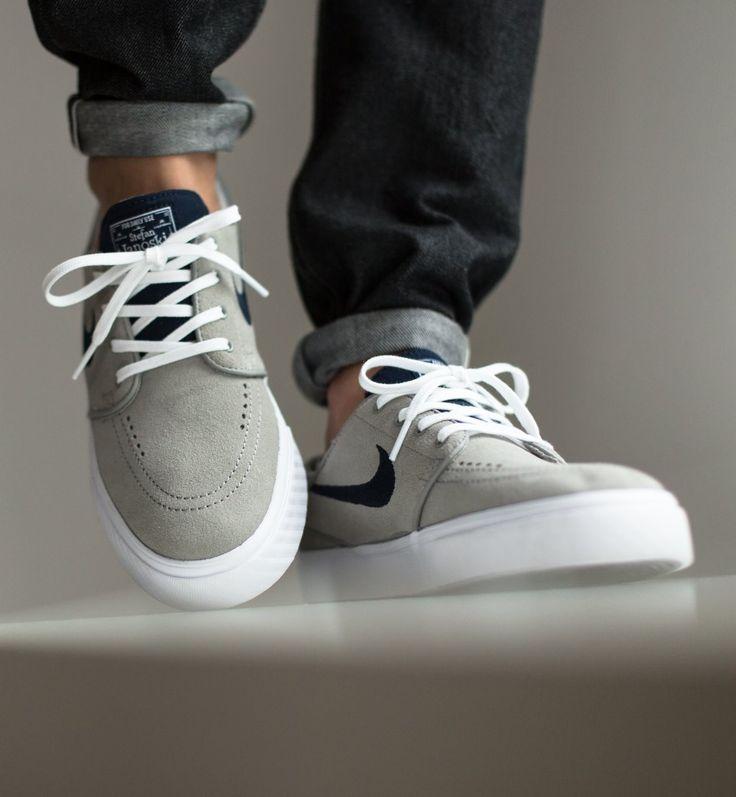 Nike SB Zoom Stefan Janoski: Mid Grey