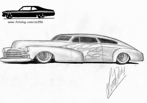 dibujos de autos busca el tuyo  clasicos excelentes   rat rod
