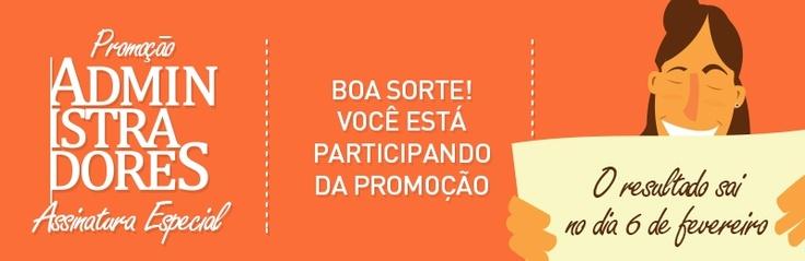 Dê uma olhada nessa promoção! Você também pode participar, não perca essa chance. Muito obrigado!