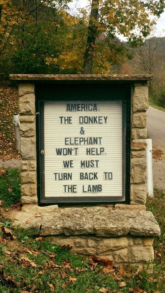 This week in church signs